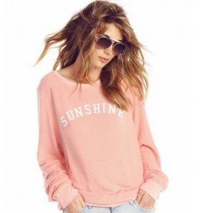 Wildfox Sunshine pullover sweater